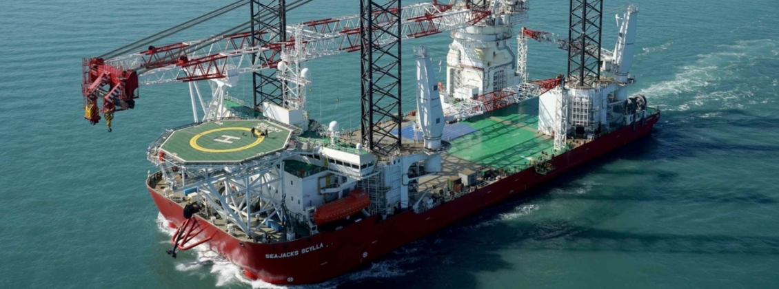 Seajacks Scyllas Sea trials text