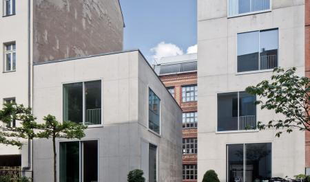 David Chipperfield Ansicht Berliner Repraesentanz Hofseite